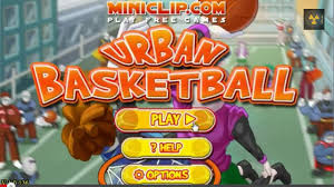 play miniclip urban basketball game online games and gifts