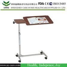 hospital bed tray table china hospital bed tray table wooden swivel bed tray table china