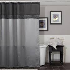 Shower Curtains Black Curtain Black Floral Shower Curtain Black And White Shower