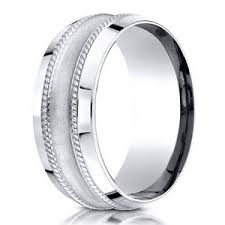 glass wedding rings men s 950 platinum designer wedding ring with glass finish 7 5mm