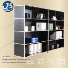 Stainless Steel File Cabinet by China Black Wood With Stainless Steel Frame Diy Filing Cabinet