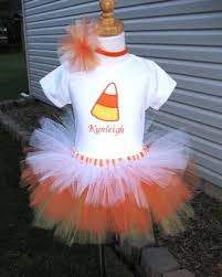 Candy Corn Halloween Costume Personalized Polka Dot Candy Corn Halloween Tutu Costume