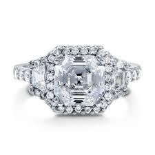 4 carat cubic zirconia engagement rings exquisite 3 4 carat cubic zirconia engagement rings tags 3 carat