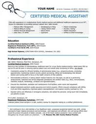 Resume Examples For Medical Assistants by Entry Level Medical Assistant Resume Berathen Com