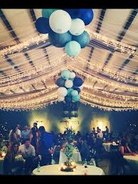 wedding reception tulle and lights in our church gym it was even