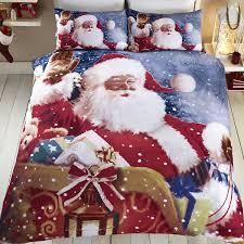 santa claus tony s textiles santa claus sleigh christmas quilt duvet