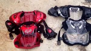 fox motocross chest protector fox chest protector review youtube