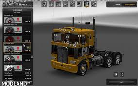 kenworth aerodyne truck kenworth k100 v 3 0 mod for ets 2