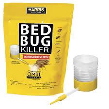 lights out bed bug killer harris 32 oz diatomaceous earth bed bug killer hde 32 the home depot