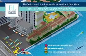 Fort Lauderdale Florida Map by Overview Maps At Fort Lauderdale International Boat Show 2017