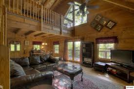 Red Oriental Rug Living Room Rustic Living Room With Ceiling Fan U0026 French Doors In Sevierville
