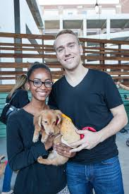 matching dog and owner halloween costumes dogs play dress up at ponce city market picnic wabe 90 1 fm