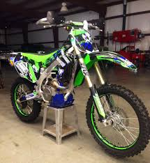 kawasaki motocross bike kawasaki kxf custom dirt bike graphics image gallery