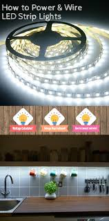 learn all about led flex strip lights and how to power them around your home wiring tips and helpful tools to connect strips to power included inside