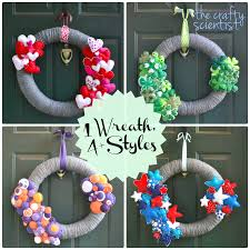 Homemade Christmas Wreaths by Diy Christmas Wreath Decoration Ideas For Front Doors U2013 Medooz
