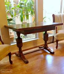 an antique desk hutch diy table and hearth