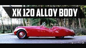 jaguar xk120 1949 very rare xk 120 with alloy body test drive