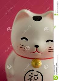 lucky cat ornament stock photography image 6430072