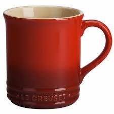 rustic coffee mugs le creuset cafe collection stoneware 12 oz coffee mug j l hufford