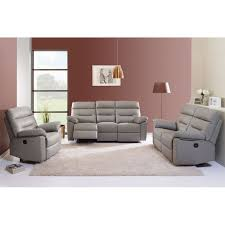 univers du canapé canapé relax électrique 3 places cuir charly univers du salon