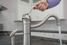 single handle high arc kitchen faucet moen 87427msrs walden single handle high arc kitchen faucet with