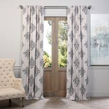 Black Out Curtain Fabric Half Price Drapes Tugra Damask Blackout Thermal Rod Pocket Single