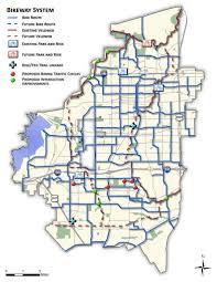 Texas Cities Map Arlington Tx Bike Map Maplets