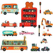 stickers repositionnables chambre bébé stickers repositionnables véhicules stickers repositionnables