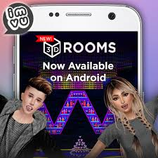 chat for android introducing 3d chat rooms on android imvu