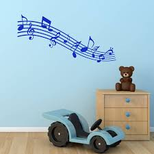 music notes wall sticker by mirrorin notonthehighstreet com music notes wall sticker