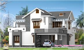 Kerala Home Design Plan And Elevation Modern 214 Square Meter House Elevation House Design Plans