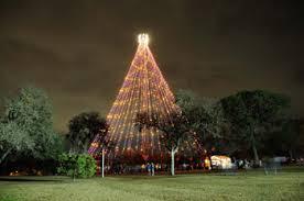 where can i see christmas lights around austin