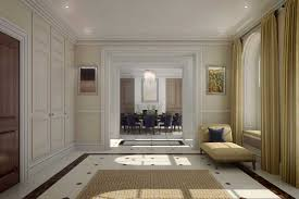 cgi to illustrate a new interior design of a luxury house in