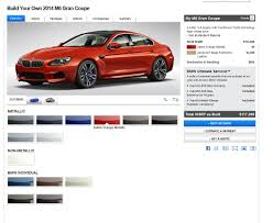 2013 bmw m6 gran coupe configurator now live on bmwusa com