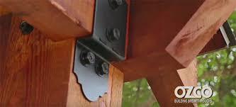 ornamental wood ties flaunt your connectors mccray lumber