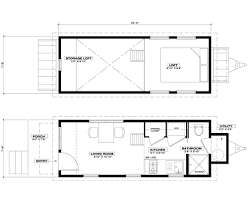 Micro House Floor Plans Ynez Tiny House Oregon Cottage Company