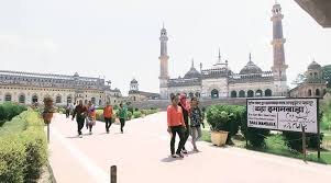 Lucknow Bench Unlocked For 24 Hrs Protesters Say Will Lock Chhota Imambara