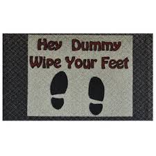 Wipe Your Paws Mat Decorative Wipe Your Paws Welcome Mat Wayfair