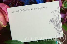 wedding wish book wishes for and groom cards flat etched floral design