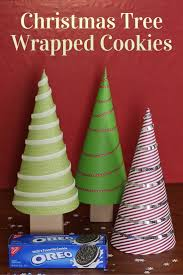 how to make christmas tree wrapped cookies the crafty blog stalker