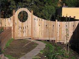 cedar art fence and gates