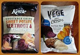 Roots Vegetable Crisps - product review orange and purple vegetable crisps catherine