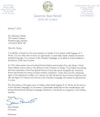 Sample Thank You Letter For Business Partnership by Morin Edward U2013 Lakefield War Veterans