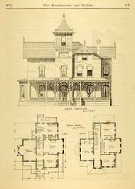 Old House Floor Plans Floor Plans For Old Victorian Homes