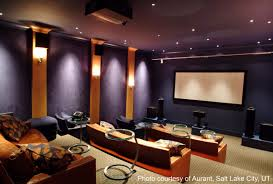home theatre designs brown and beige color scheme theater room