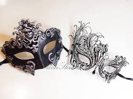 masquerade mask for couples new couples masquerade masks his hers phantom masquerade