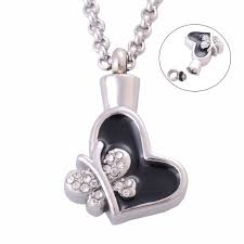 jewelry urns women claddagh cremation urns pendant necklace 316l stainless