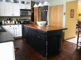 butcher kitchen island black kitchen island with butcher block top new home design