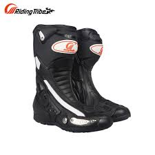 blue motocross boots online shop riding tribe men u0027s motorcycle riding boots speed