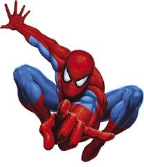 spiderman clipart marvel hero pencil color spiderman